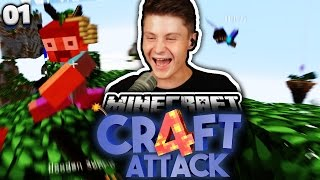 RICHTIGE ASSI AKTION! :D | Minecraft Craft Attack 4 #1 | Dner