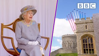 Highlights from The Queen's Official Birthday 👑🎂 Trooping the Colour 2021 🏰 BBC