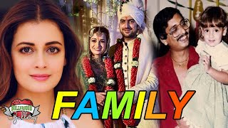 Dia Mirza Family With Father, Mother, Husband & Affairs