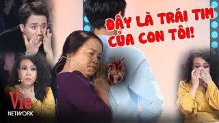 Người mẹ tìm được người mang tim của con mình sau nhiều năm   Việt Hương, Trấn Thành chết lặng