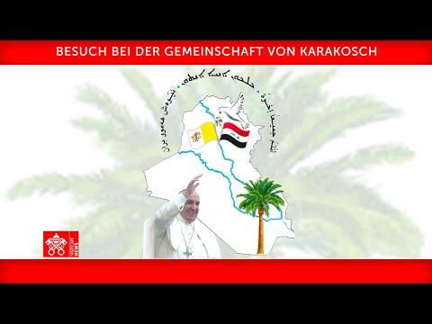 Wortlaut: Ansprache von Papst Franziskus in Karakosch/Irak