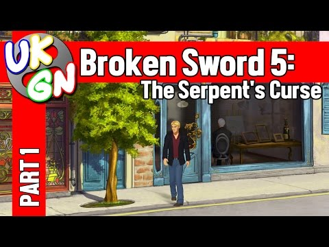 Broken Sword 5: The Serpent's Curse - 100% Walkthrough - Pt1