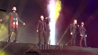 Boyzone - One More Song.  24.10.19 The London Palladium