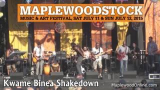 Kwame Binea Shakedown at Maplewoodstock 2015