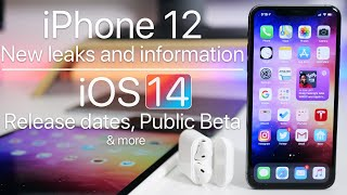 iPhone 12, iOS 14 Release dates, iOS 13.6, new iPads and more