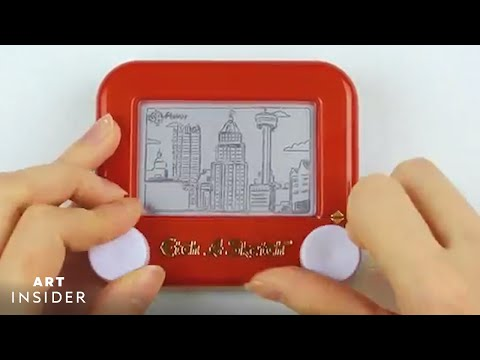 Creating Etch A Sketch Art that Lasts Forever
