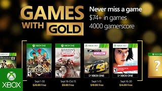 Xbox - September Games with Gold