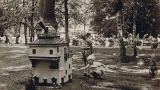 Rommeldam originele beelden kinderbezoek