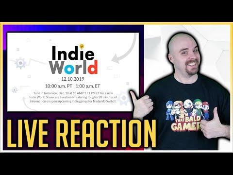 Nintendo Indie World - December 10th Broadcast - Live Reaction!