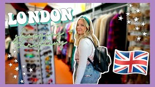 SHOP WITH ME IN LONDON VINTAGE MARKETS! + TRY ON