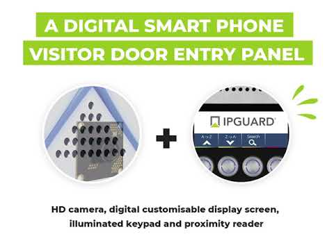 IPGUARD 4G/GSM Smart Door Entry & Access Control System: