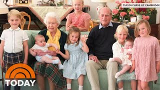 Buckingham Palace Shares Sweet Photo Of Prince Philip With Great-Grandchildren | TODAY
