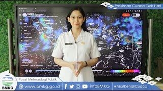 Prediksi Cuaca Ekstrem BMKG Hari Ini Minggu 19 September 2021: Jakarta Pusat Hujan Petir