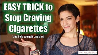 How to QUIT SMOKING & Stop Cigarette Cravings FAST! - Stress Relief / EFT / Tapping