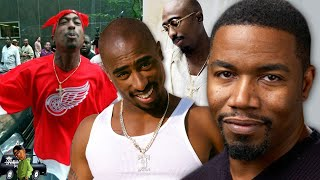 DID ACTOR MICHAEL JAI WHITE CALL TUPAC'S THUG IMAGE FAKE?
