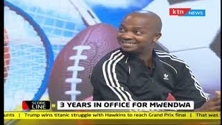 Scoreline: 3 Years in office for Mwendwa