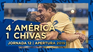 América 4-1Chivas | Jornada 12 - Apertura 2019