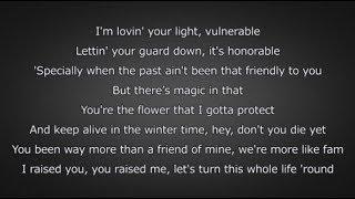 6LACK   Pretty Little Fears (ft. J. Cole) (Lyrics)