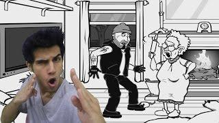 حرامي دخل بيتنا ! كيف نفقع وجهه ؟ :(
