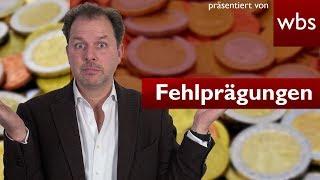 Fehlprägungen – Der Schatz in eurem Portemonnaie! Darf ich damit zahlen? | RA Christian Solmecke