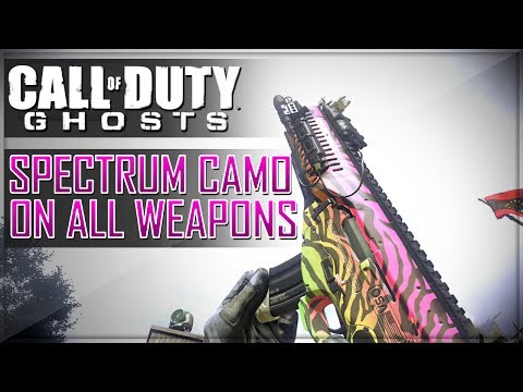 Call of Duty Ghosts Walkthrough - CoD Ghosts SPIKED Camo - DLC Camos
