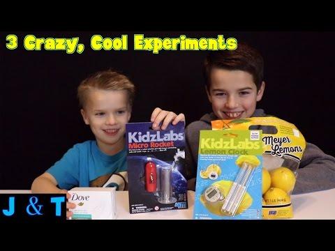 3 Crazy Cool Experiments