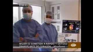 America TV 19/05/2010 - Trasplante Cardiaco en el INCA