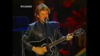 Jon Bon Jovi-Janie Don't You Take Your Love To Town(Paravarotti & Friends) Live