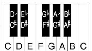 Learn Piano Keys And Notes - Piano Keyboard Diagrams