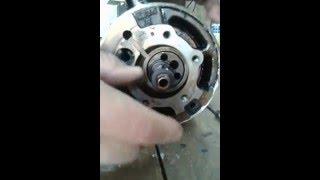compresor rotativo de aire acondicionado paso a paso sus partes internas ( segunda parte)