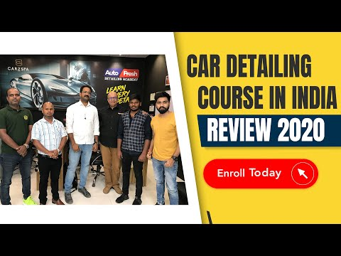 Nov '20 Batch | Car Detailing Training in India | Car Detailing Course ...