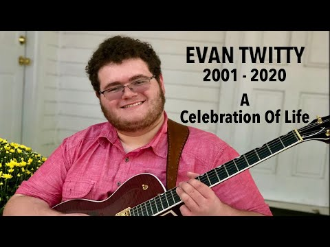 Evan Twitty was an 18 year old rising musician who was recently killed in a car crash. Thom Bresh made this video montage, in memory.