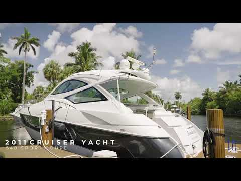 Cruisers Yachts Sports Coupe video