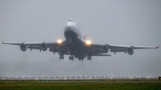 video: Farewell to the 747: End of an era as Heathrow waves goodbye to last BA jumbo jet