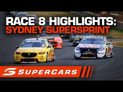 2020年 SUPERCARS シドニースーパースプリント #race8 レースハイライト動画