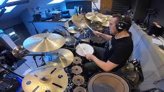 "Thomas Lang recording ""Caffeine"" for Paul Prem, session footage"