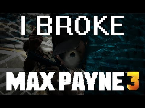 The Best Thing In Max Payne 3 Is Messing With The Glitchy Bullet Time