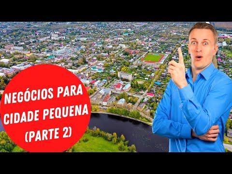 5 IDEIAS DE NEGCIO PARA ABRIR EM CIDADE PEQUENA EM 2021 (PARTE 2)