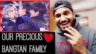 BTS MEMBERS PROTECTING & SUPPORTING EACH OTHER (BTS REACTION)