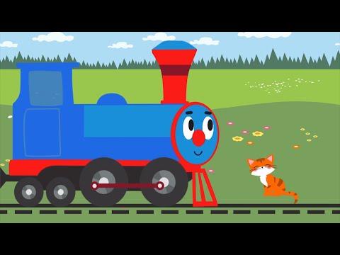Песенки для детей - Синий Трактор - Далеко и близко - обучающая песня для детей