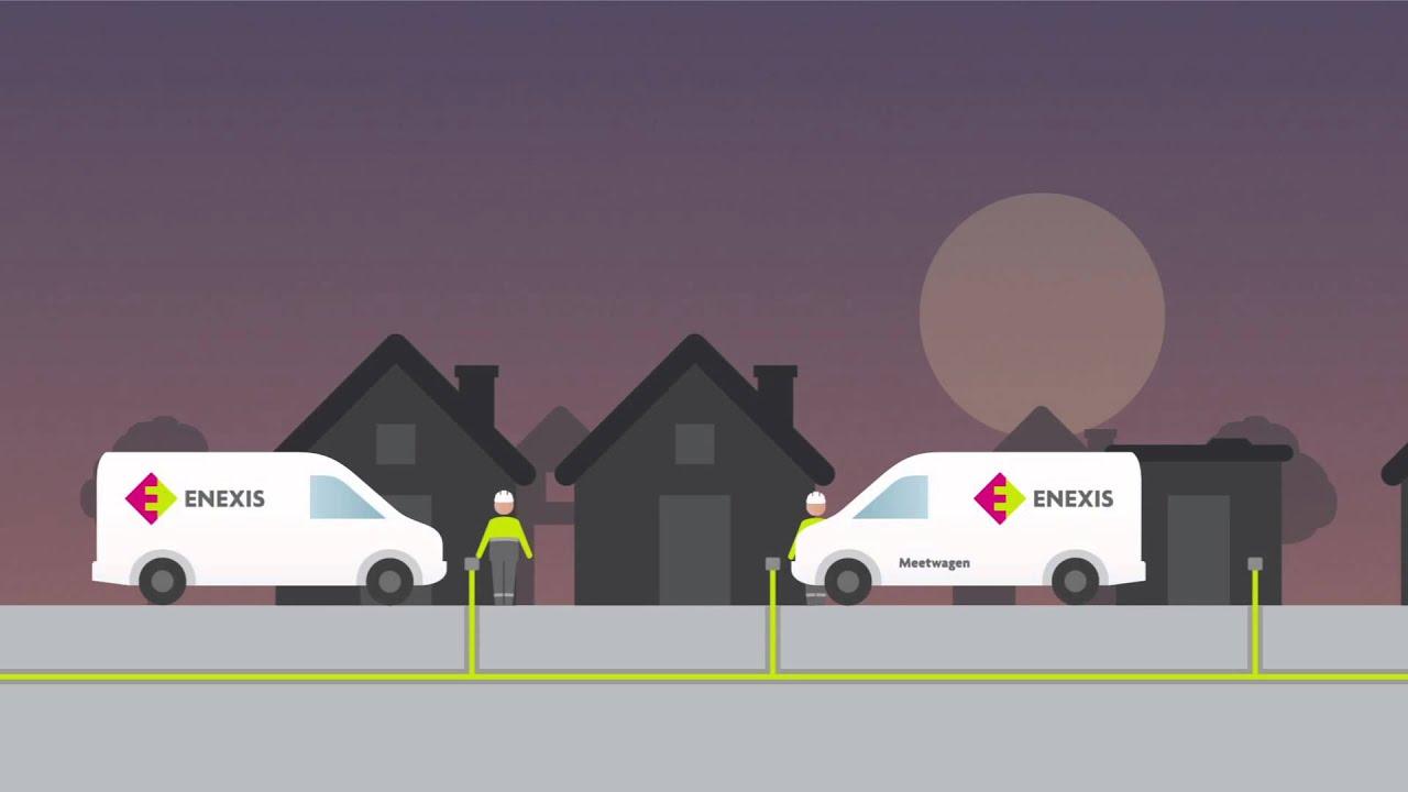 Een storing in het elektriciteitsnetwerk