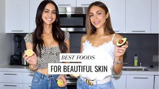 WHAT TO EAT FOR BEAUTIFUL SKIN With Dr. Mona Vand | Annie Jaffrey