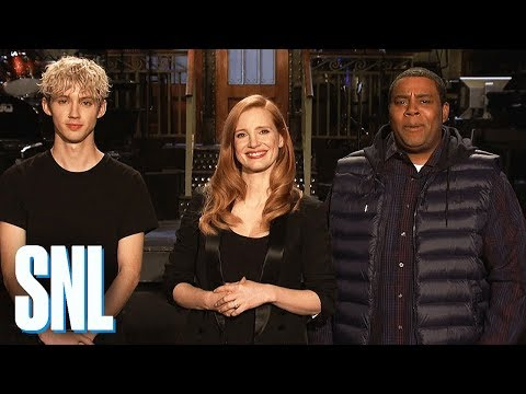 Jessica Chastain Is Not Afraid to End Kenan Thompson - SNL