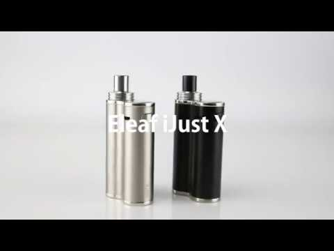 YouTube Video zu Eleaf iJust X AIO Starterset 3000 mAh 7 ml