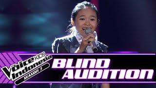 Fire Amanda - Terlalu Manis | Blind Auditions | The Voice Kids Indonesia Season 3 GTV 2018