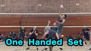 One Hand Setting - How to SET a Volleyball Tutorial