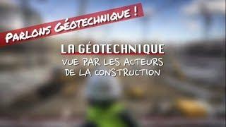Parlons Géotechnique - volet 3