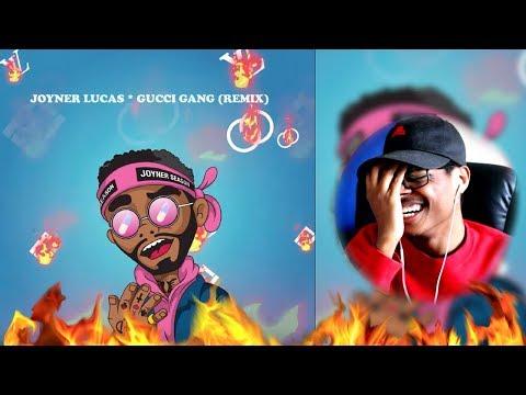 Lil Pump Diss Track? | Joyner Lucas - Gucci Gang Remix | Reaction