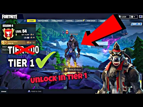 How To Get DIRE SKIN Without 100 Tier Level (New) Fortnite Glitches Season 6 PS4/Xbox 2018