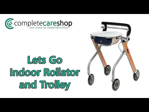 Lets Go Indoor Rollator - Ideal For Use In Narrow Spaces